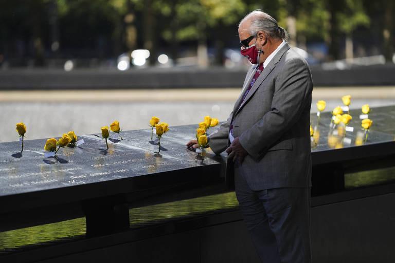 Veja fotos das homenagens às vitímas nos 20 anos do 11 de Setembro