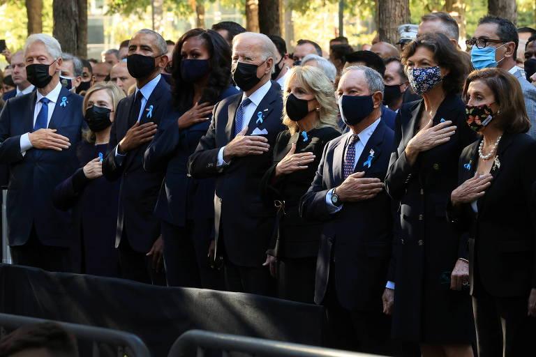 Veja fotos das homenagens às vítimas nos 20 anos do 11 de Setembro
