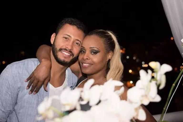 Roberta Rodrigues e o marido, Guilherme Guimarães, estão com Covid-19