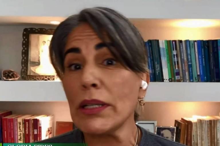 Glória Pires relembra luta de Orlando Morais contra a Covid