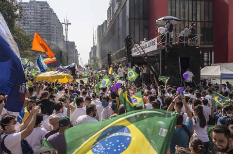 Lula condiciona ida a atos de oposição à presença de presidenciáveis ou nomes de outros campos políticos