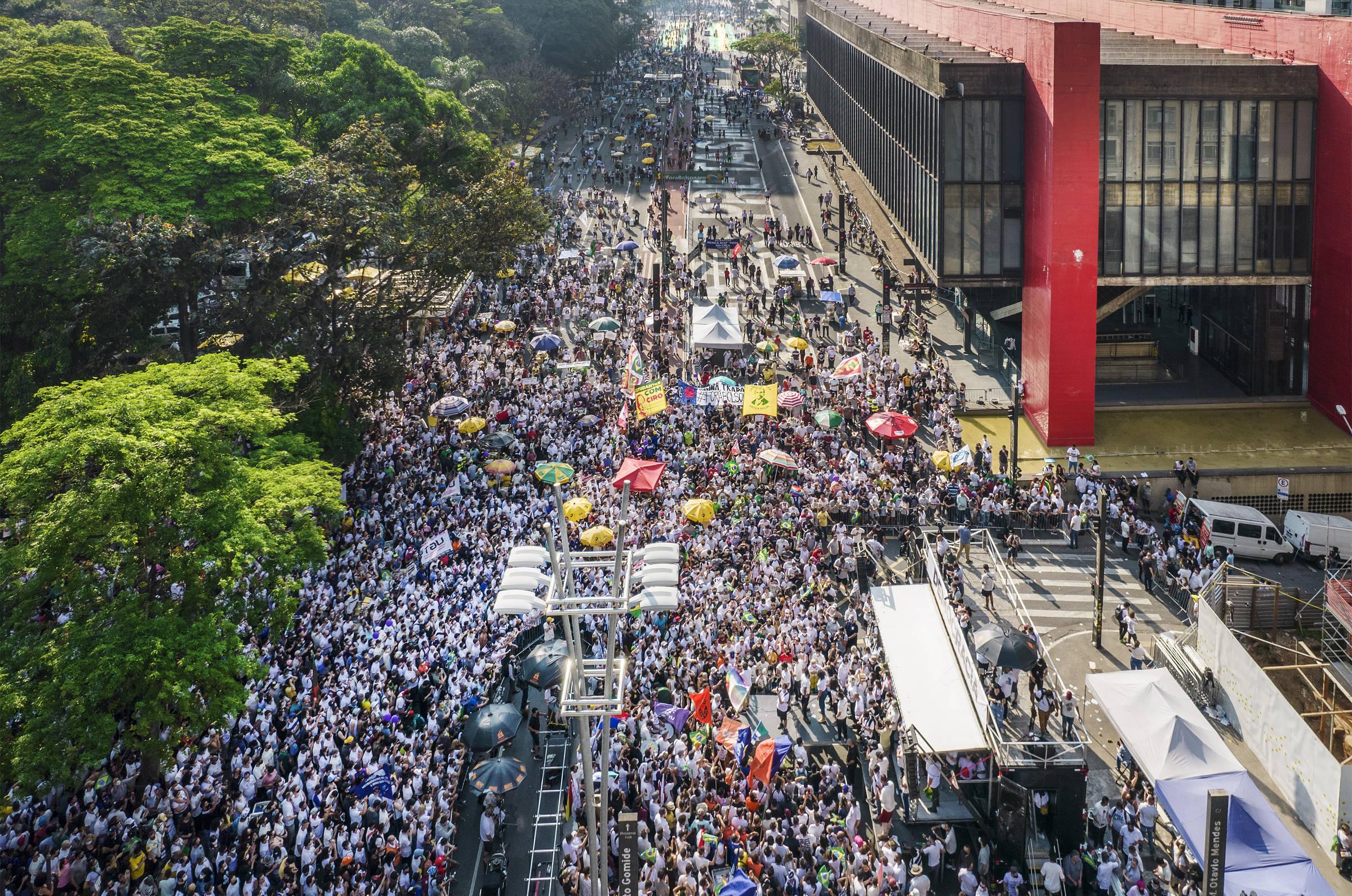 Líderes do MBL dizem que atos foram sucesso e que tendem a rejeitar manifestação com PT