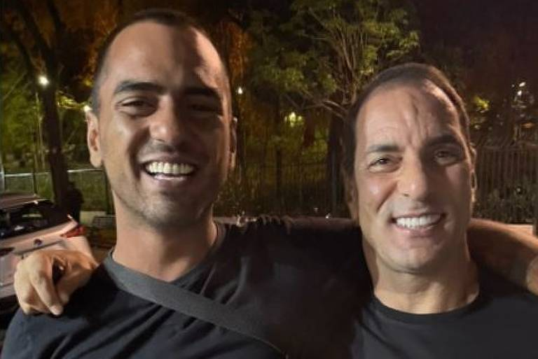 Alexandre Mortágua posta foto ao lado do pai, Edmundo