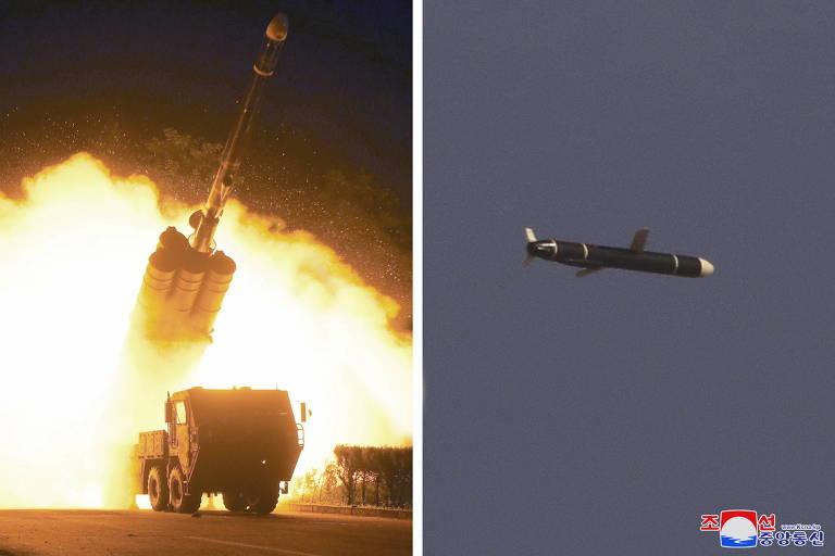 Coreia do Norte testa novos mísseis de longo alcance em meio a impasse com EUA
