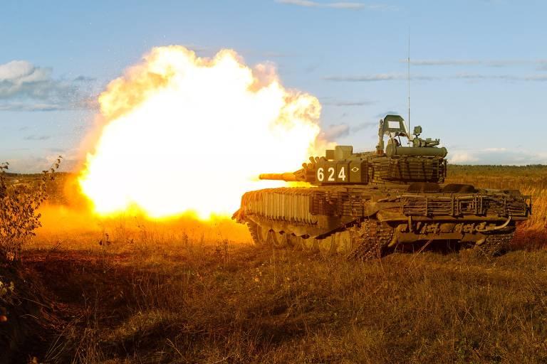 Rússia faz seu maior exercício militar anual
