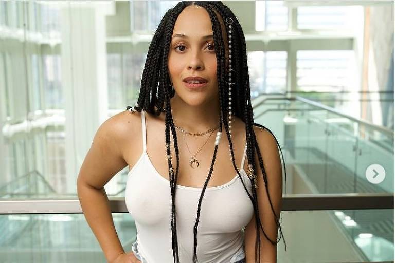 A atriz Tanya Fear