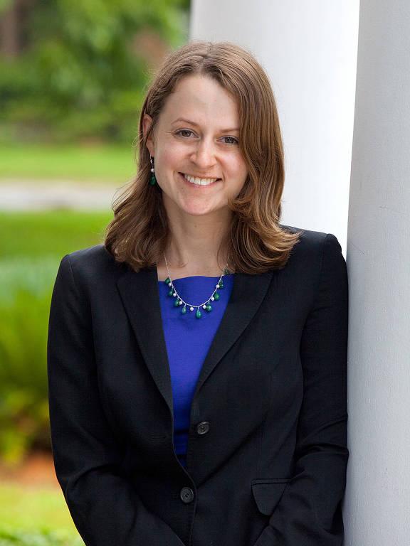 A professora da Florida State University Mary Ziegler, especialista em direito, história e política de reprodução, saúde e conservadorismo nos EUA