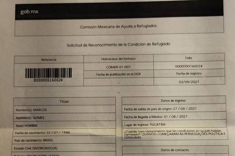 Zé Trovão alega perseguição de Alexandre de Moraes e pede asilo político no México