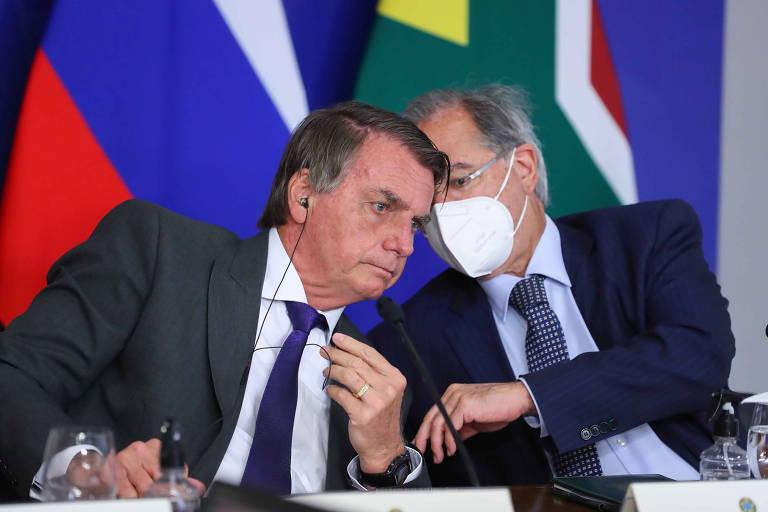 Para Bolsonaro e Guedes, teto de gastos vai fazer botox precoce ou cair