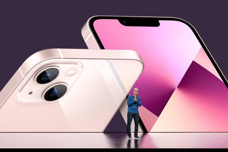 iPhone 13, da Apple, promete vídeos com qualidade de cinema