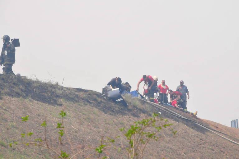 Avião cai e deixa ao menos sete mortos, em Piracicaba (SP)