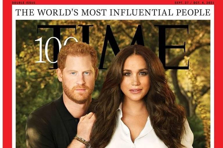 Príncipe Harry e Meghan Markle estão na lista das pessoas mais influentes da Time