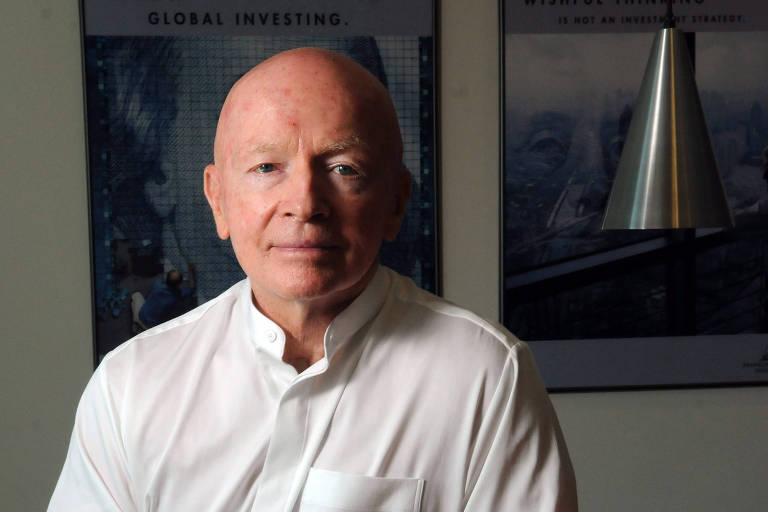 Mark Mobius espera Bolsa cair mais para voltar às compras no Brasil