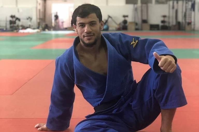 O judoca argelino Fethi Nourine, punido com dez anos de suspensão pela FIJ