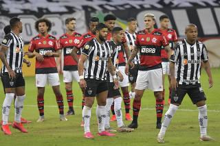 Brasileiro Championship - Atletico Mineiro v Flamengo