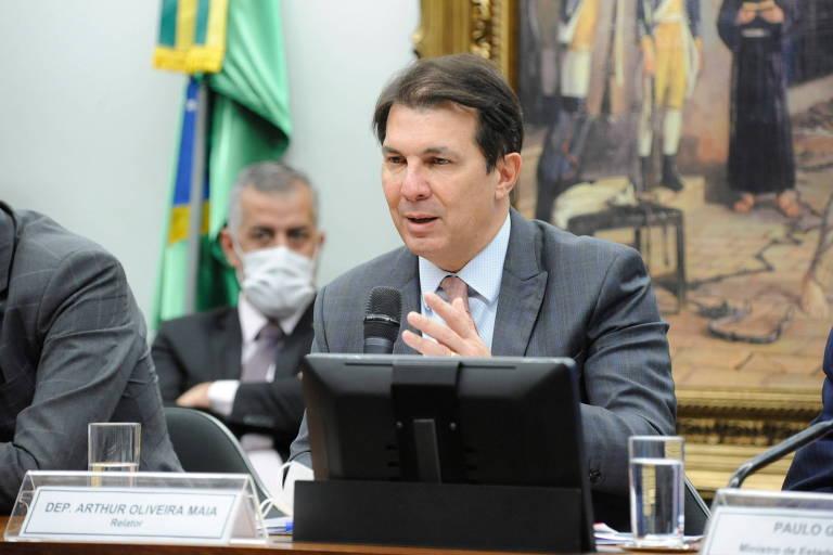 Deputado Arthur Maia (DEM-BA), relator da PEC da reforma administrativa na comissão especial da Câmara