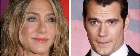 Jennifer Aniston e  Henry Cavill