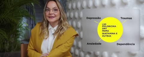 """Psiquiatra Débora Medeiros, narradora dos vídeos da série """"DR.DR."""""""