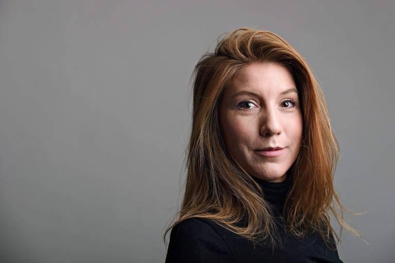 A jornalista sueca Kim Wall, morta dentro de um submarino na Dinamarca