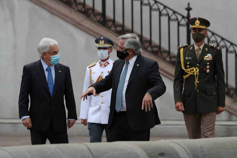 Uma disputa argentino-chilena com cheiro de naftalina