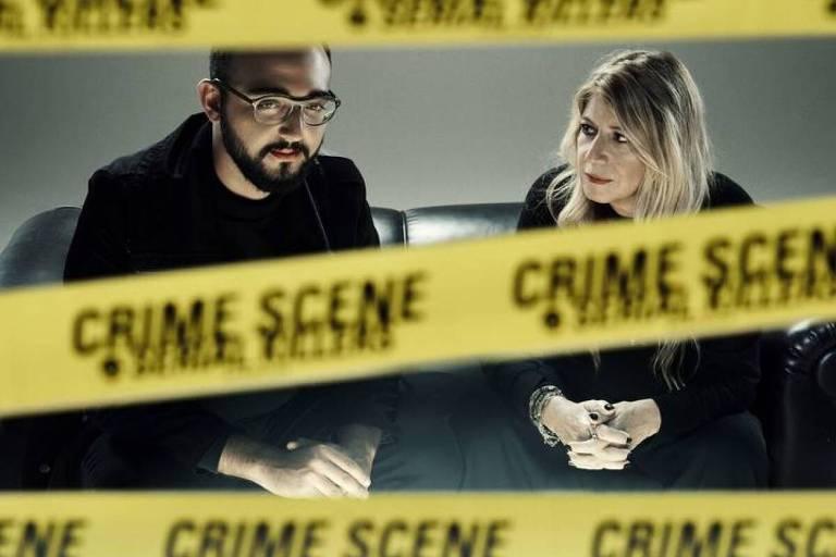 Os roteiristas Raphael Montes e Ilana Casoy