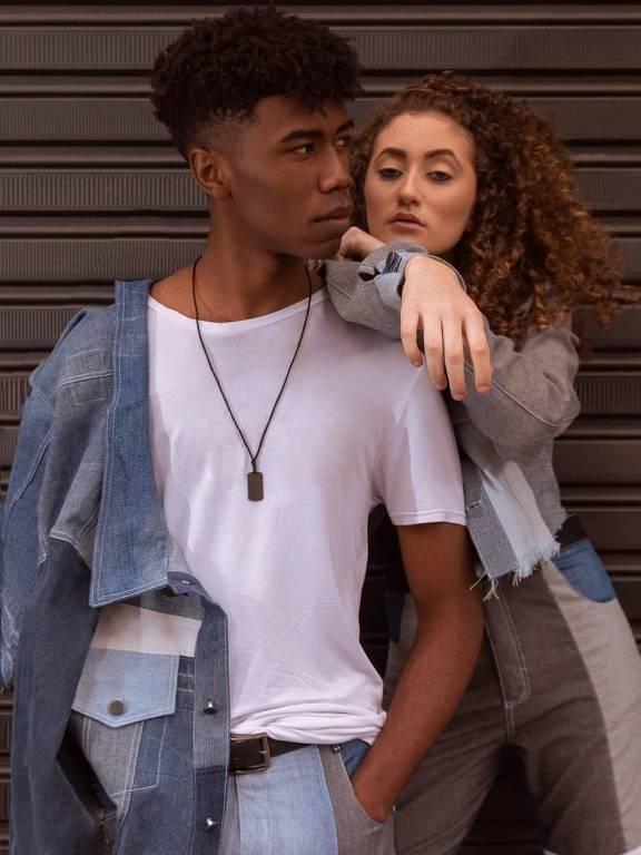 Modelos vestem peças da marca Florent, de Belo Horizonte
