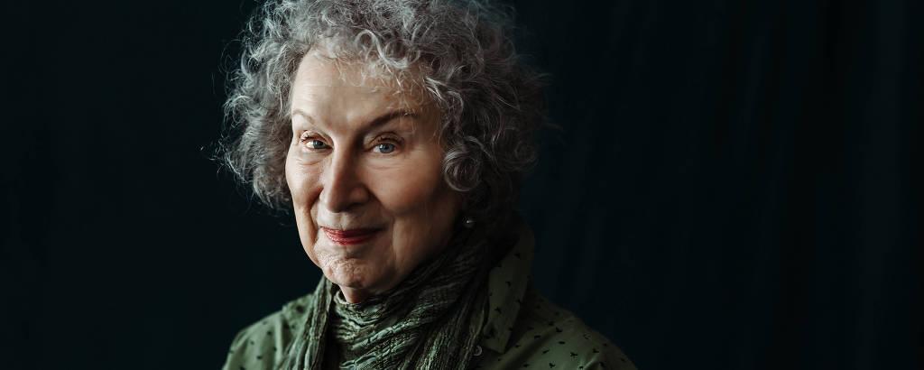 A escritora Margaret Atwood
