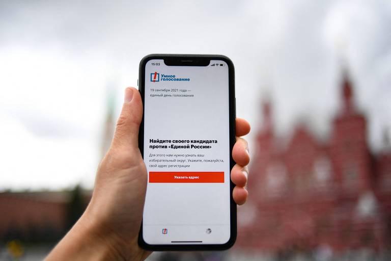 Aplicativo Smart Voting, do político da oposição Alexei Navalni, foi bloqueado dos sistemas do Google e da Apple, na Rússia