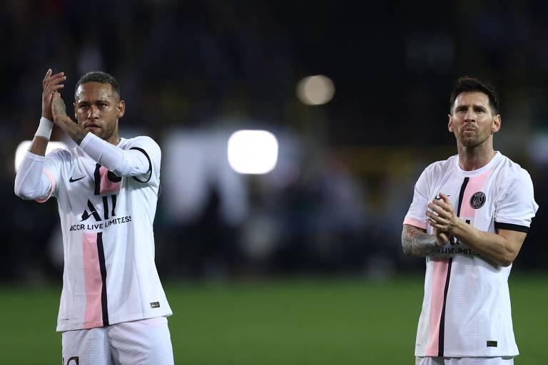 PSG com Neymar, Messi e Mbappé ainda está desorganizado