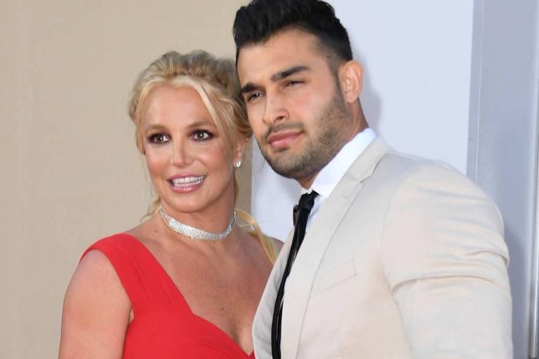 Ex de Sam Asghari diz que ele 'tirou sorte grande' ao noivar com Britney