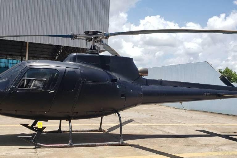 Helicóptero com registro da Polícia Civil do Rio é apreendido por suspeita de uso em garimpo em terra yanomami