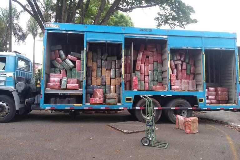 Polícia apreende 10 toneladas de maconha no interior de São Paulo