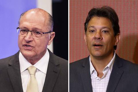 Datafolha: Alckmin e Haddad lideram rejeição eleitoral na disputa pelo Governo de SP