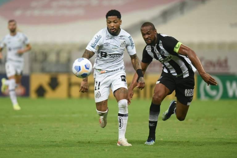 Santos empata e chega a 7º jogo seguido sem vitória no Brasileiro