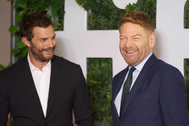 Jamie Dornan e Kenneth Branagh apresentam 'Belfast' no Festival de Toronto