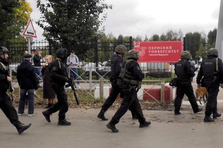 Ataque a tiros em universidade na Rússia deixa ao menos 6 mortos