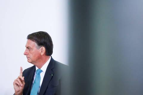 Discurso na ONU será em braile, ironiza Bolsonaro a jornalistas em Nova York