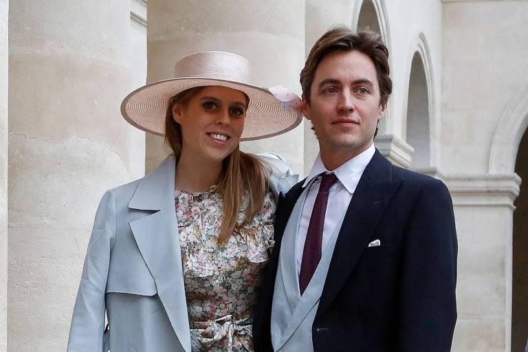 Neta da rainha Elizabeth 2ª, princesa Beatrice dá à luz primeira filha