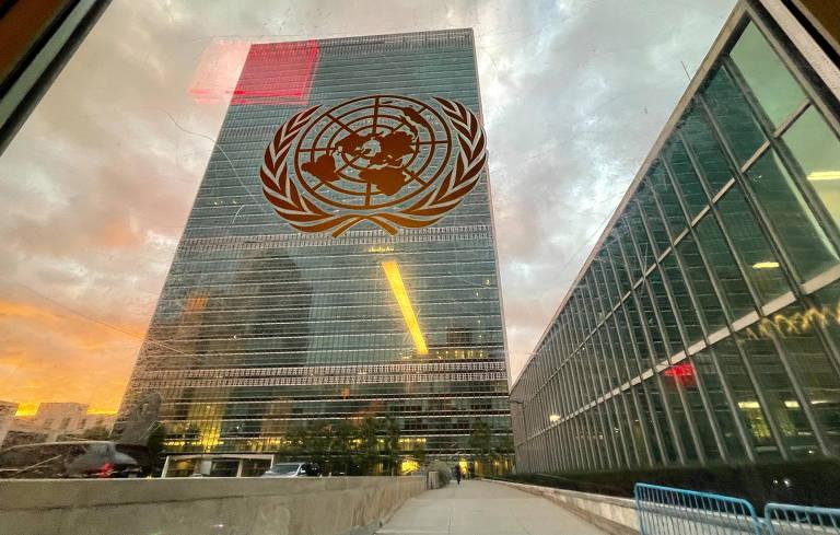 Sede da ONU, em Nova York, nesta terça-feira, dia da abertura da 76ª Assembleia-Geral das Nações Unidas