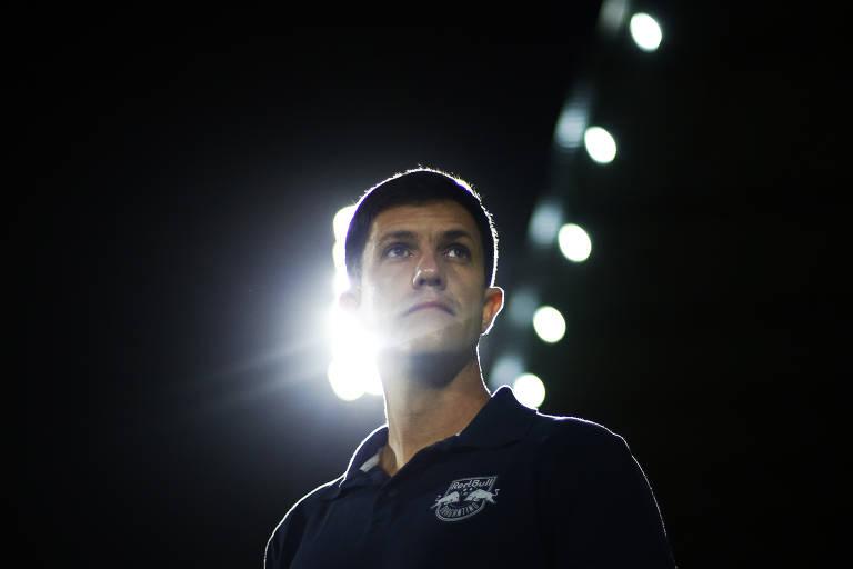 Mauricio Barbieri, atual técnico do Bragantino