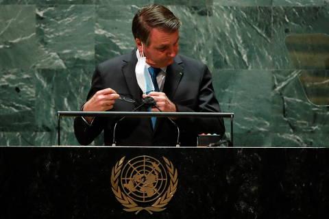Bolsonaro do púlpito da ONU é o mesmo do cercadinho do Alvorada