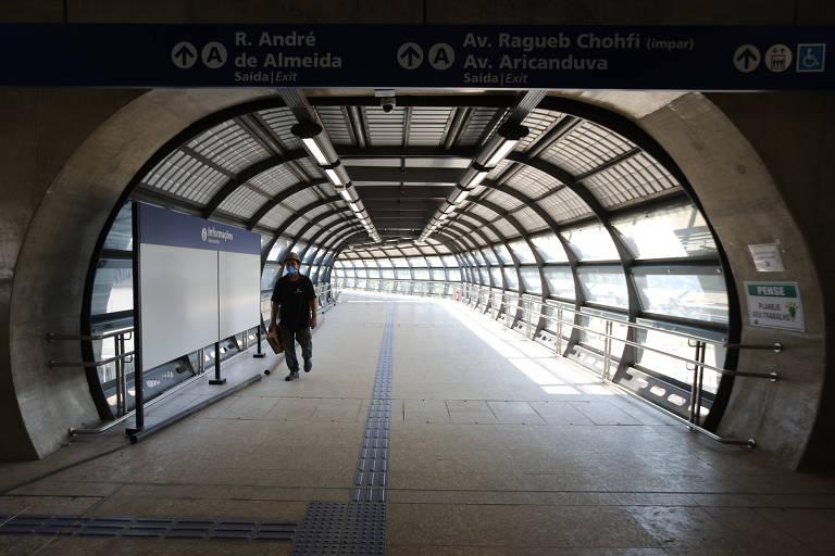 Às véspera de ano eleitoral, governo Doria inaugura pacotão de estações do metrô e da CPTM