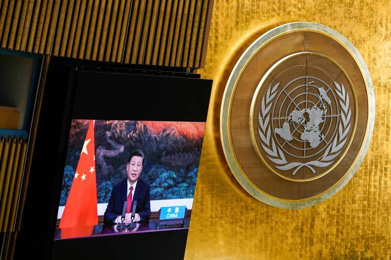 Xi critica intervencionismo externo em recado aos Estados Unidos na ONU