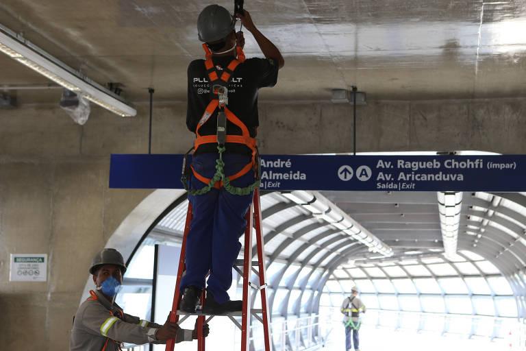 Estação Jardim Colonial do monotrilho finalmente será entregue
