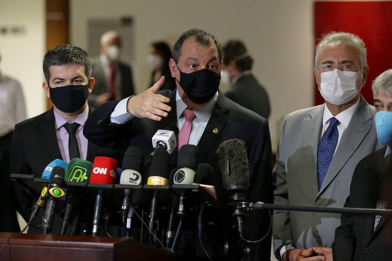 Omar Aziz diz que vazamentos da CPI poderiam render problemas na Justiça se não adiasse relatório final