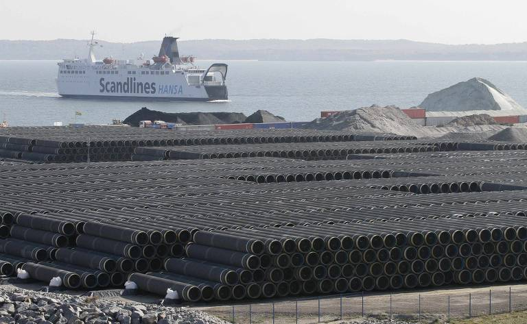 Novo gasoduto liga Rússia à Alemanha