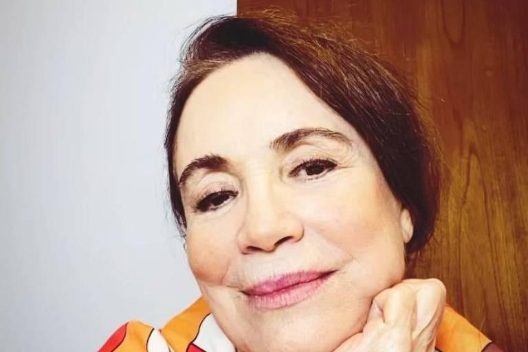 A atriz Regina Duarte convidou seguidores para discutir sobre a democracia