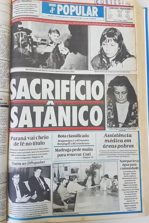 Celina e Beatriz Abagge foram execradas pela população da pequena cidade litorânea de Guaratuba, no Paraná, ao serem pintadas de bruxas satânicas pela polícia e por jornais