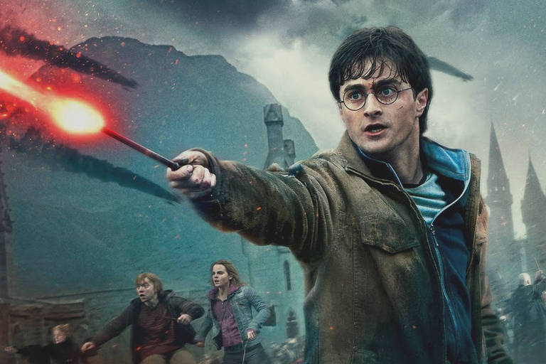 """Daniel Radcliffe em imagem promocional do filme """"Harry Potter e as Relíquias da Morte - Parte 2"""""""