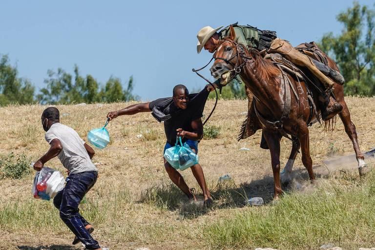 Biden descreve violência contra haitianos na fronteira como 'ultrajante' e promete consequências